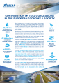 Contribution of toll concessions in the European economy and society